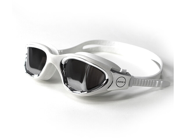 Zone3 Vapour Lunettes de natation Polarized, polarized lens-white/silver